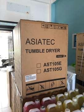Mesin pengering Asiatec 10,5kg bisa untuk bedcover