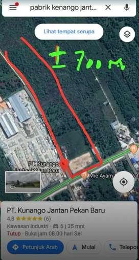 Dijual Cepat Tanah 7 hektar lokasi strategis untuk kantor/rumah