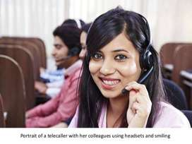 Male and Female customer care and Telecaller required for office work.