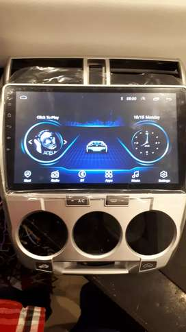 Honda City Android panel with  free installation