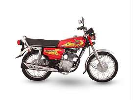 Honda 125 Available on installment in Lahore