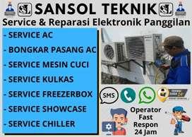 Service Kulkas Tidak dingin AC Servis Mesin cuci Kebomas Gresik