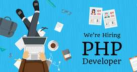 Full/Part time PHP Developer required