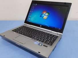 Laptop murah core i5, HP Elitebook 2560P, Ram 4g Lcd 12.6, Hdd 250G
