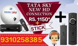 # BIGGEST # SALE # TATA SKY NEW CONNECTION = 1150*