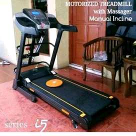 open order treadmil elektrik ifive with masager
