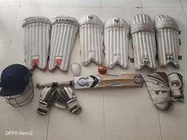 Junior Cricket kit for 10-12 yrs child...