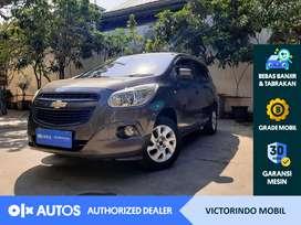 [OLXAutos] Chevrolet Spin 2014 1.2 LT M/T Bensin Abu-abu #Victorindo
