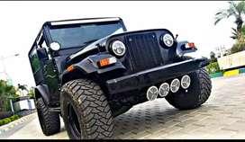 Thar jeep modified