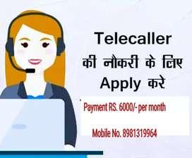 Need a Telcaller