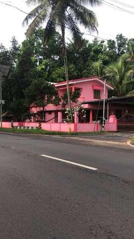 4BHK house for rent, Manathoor, Pala-Thodupuzha Road