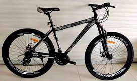 Imported cycle with Shimano gear and disk brake