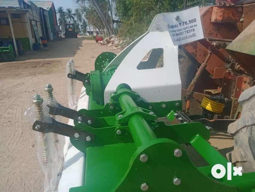 New Tractor Rotavator Brand New Lakshmi Saraswathi