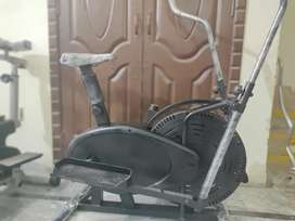 Elliptical trainer cycling machine exercise cycle cardio exercise mach