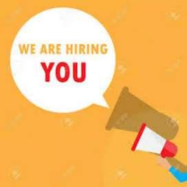 Urgent hiring 2019 male and female job vacancy
