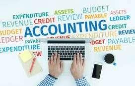 Accountant Fresher need In Showrooms Or Ltd Companies
