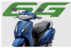Activa 6g std 10000rs down payment.