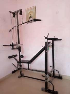 Gym machine with 100kg weight
