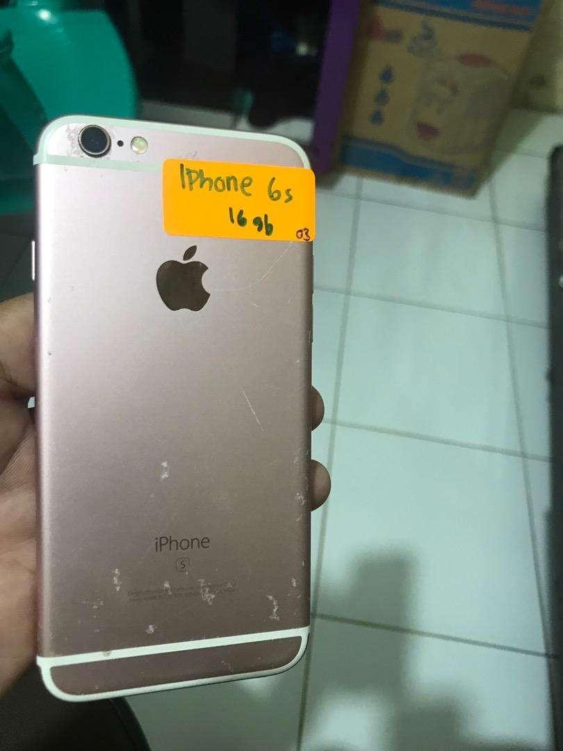 Iphone 6s 16gb lengkap