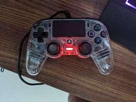 Nacon PS4 Official Licensed Controller Transparent Blue