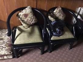 Bed, dressing and sofa chair set