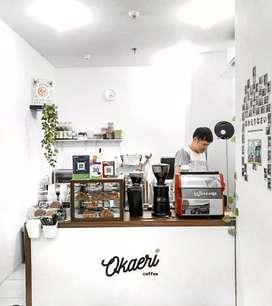 MEJA RESEPSIONIS OFFICE MEJA KASIR COFFESHOP MEJA BAR CAFE