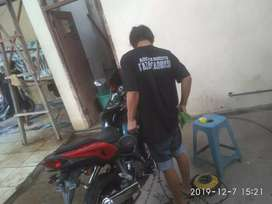 Cuci / Salon mobil dan motor