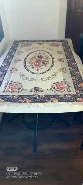 Double Glass Dining Table 5×3 feet ,12mm
