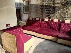 7 seater L shaped corner Sofa