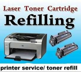 Cartridge Refilling ₹250/-