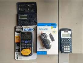 Casio Texas Instruments Calculator Kensington presentor remote