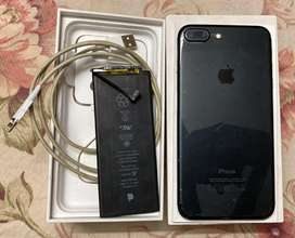 Iphone 7+ 32gb (Not Opened) good condition for sale
