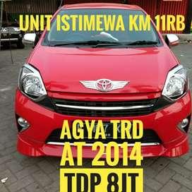 Agya TRD matic 2014 istimewa dp murah