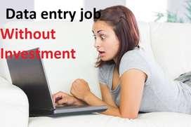 Data eData entryntry job Simple ms word typing genuine data entry work