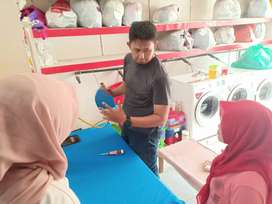 PROMO SEPTEMBER CERIA Setrika Uap Gas Laundry Kediri Gratis Training