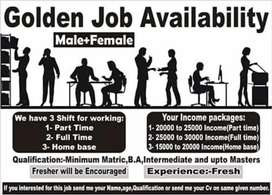 We required jobs male & female