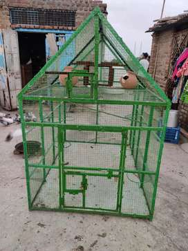 Iron cage big with multi stand