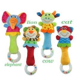 Ring Rattle Ring - Mainan Bayi Boneka Kerincingan - cat