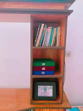 Full size TV troily and Book Shelif