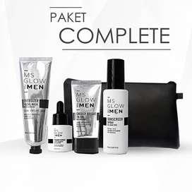 MS GLOW FOR MEN PAKET COMPLETE ORIGINAL 100% HARGA ISTIMEWA !!!