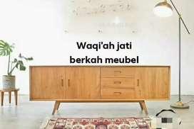 Bufet Meja tv Retro modern & mewah( P. 180cm) bahan kayu jati tua asli