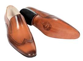 real leather hand made formal shoes for men