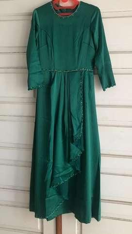 Dress layer hijau