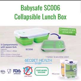 babysafe luch box collapsible