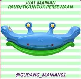 Mainan Indoor Playground Jungkat-jungkit Berbentuk Menarik Murah