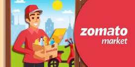 Required Delivery boy or executive for ZOMOTO