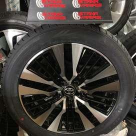 Velg Ban 18 New Alphard Vellfire 2020 Cocok innova voxy rush camry dkl