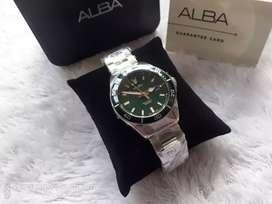 Alba diver AG8J31X1 Original garansi resmi kondisi baru jam tangan