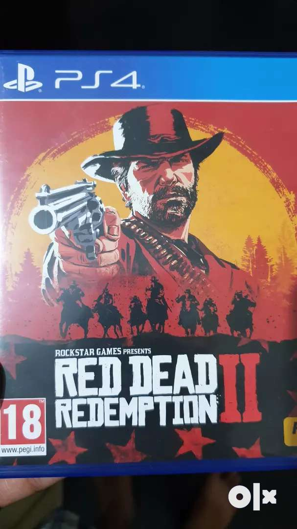 Reddead Redemption 2 ps4 game 0