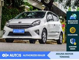 [OLX Autos] Toyota Agya 2016 TRD 1.0 S Bensin A/T Putih #Arjuna Tomang
